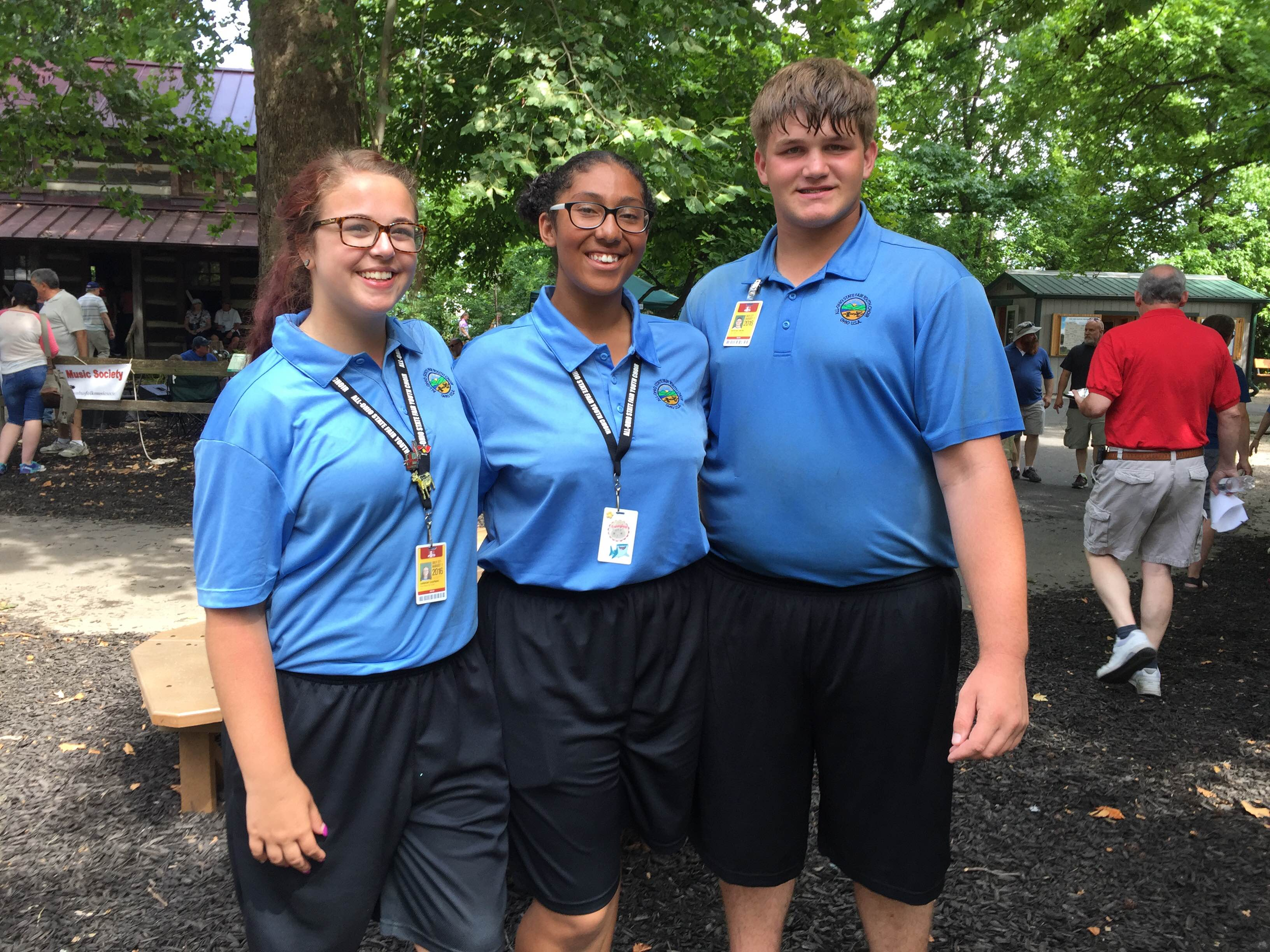 All Ohio State Fair Youth Choir Members