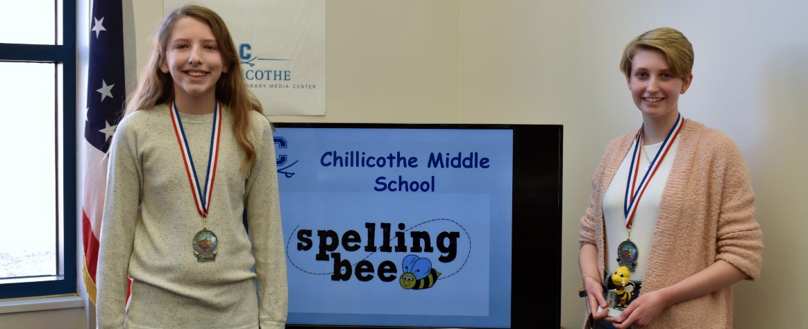 Congratulations to Austin Sprouse and Allison Lutz for winning the 2019 CMS Spelling Bee!