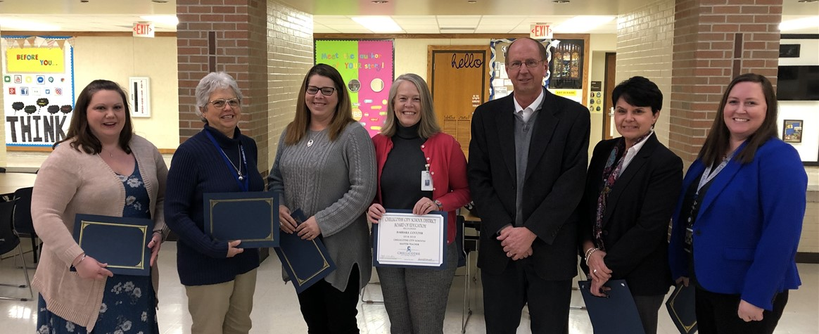 2019 Master Teacher Renewal Award Recipients