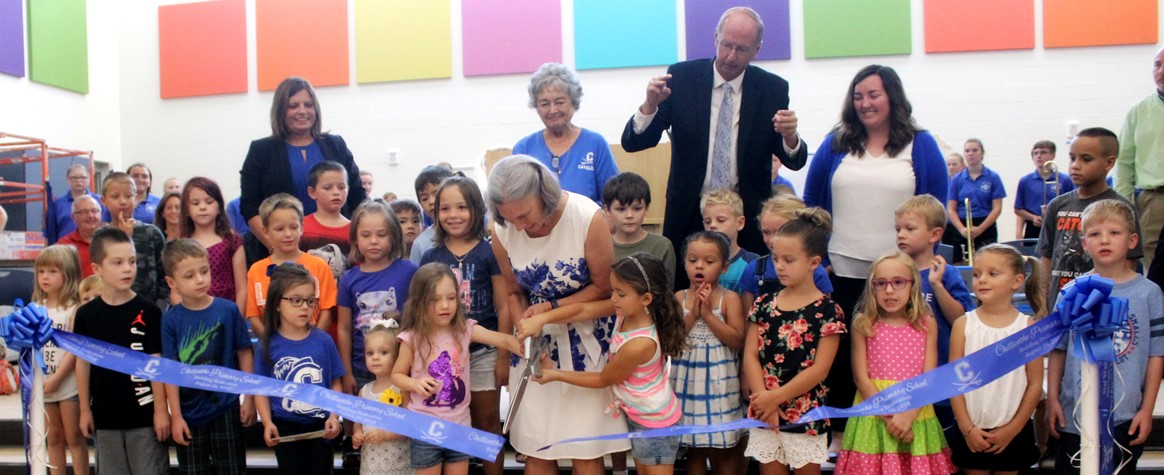 Chillicothe Primary Ribbon Cutting